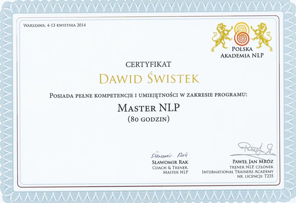 Master NLP